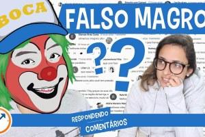 FALSO MAGRO E BENEFÍCIOS DA CERVEJA | Respondendo Comentários nº 32 | Saúde na Rotina