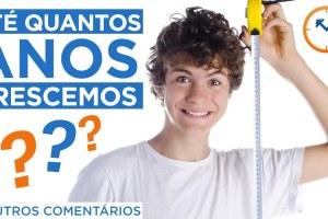 ☝ ATÉ QUAL IDADE CRESCEMOS? VOU FICAR MAIS ALTO?☝ | Respondendo Comentários n°35 | Saúde na Rotina